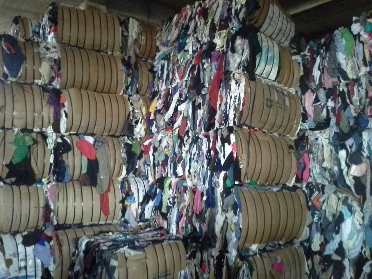 Raw materials - Mixed Rags