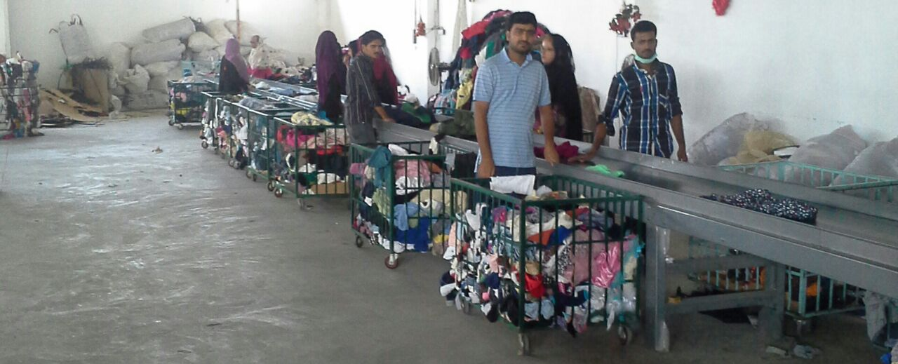 Grading of Used Clothing